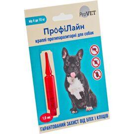 """Капли на холку """"Профілайн"""" 4кг-10кг (1 пипетка*1,0мл) для собак(инсектоакарицид), фото"""