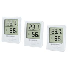 Термометр-гигрометр Bresser Temeo Hygro indicator (3шт) white, фото