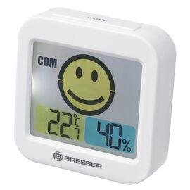 Термометр-гигрометр Bresser Temeo Smile White (7007450GYE000), фото